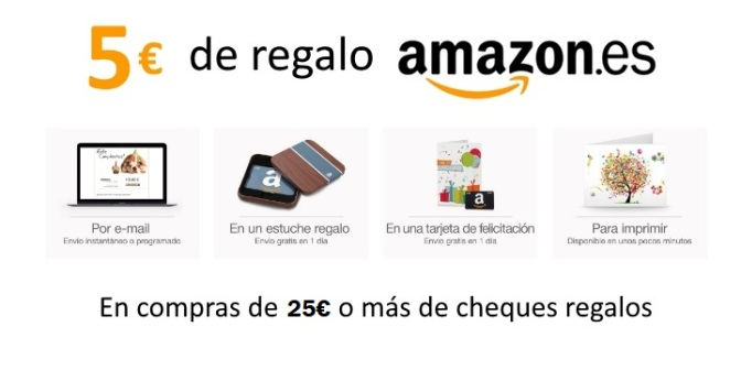 5€ gratis en Amazon
